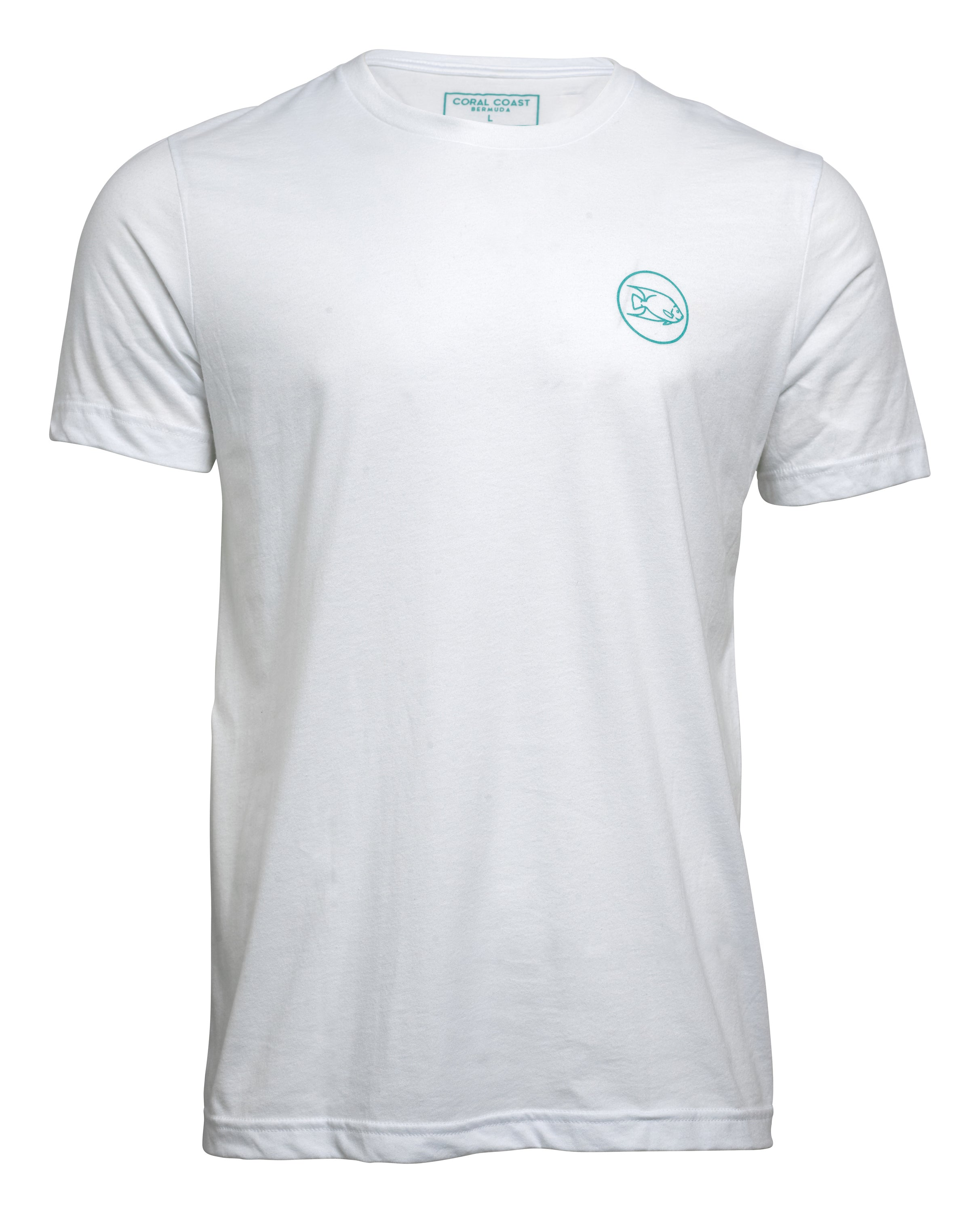 WHITE CC LOGO T-SHIRT