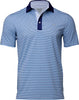 WELLINGTON STRIPE PERFORMANCE GOLF POLO
