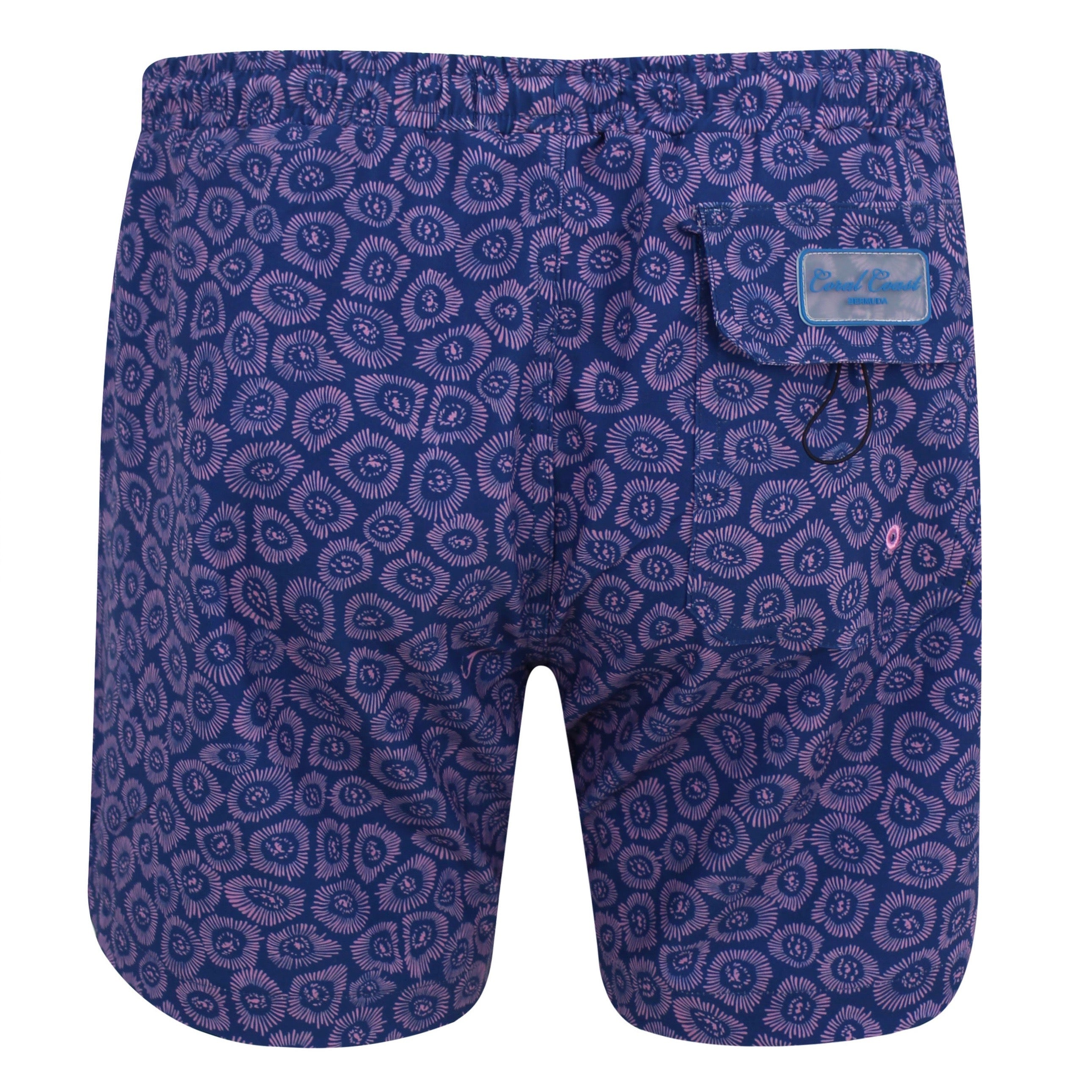 ZOANTHIDS NAVY SWIM TRUNK