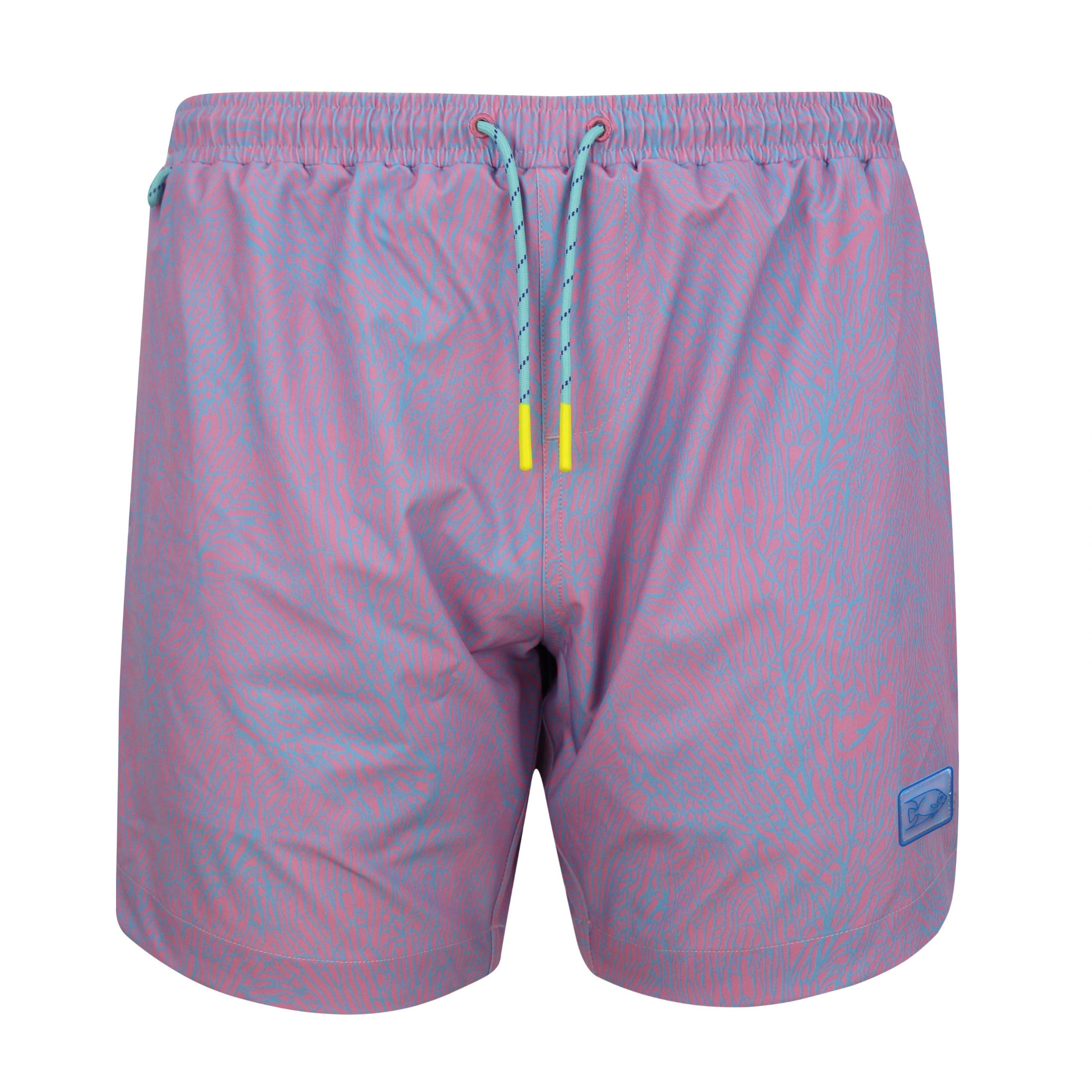 SEA FAN PINK SWIM TRUNK