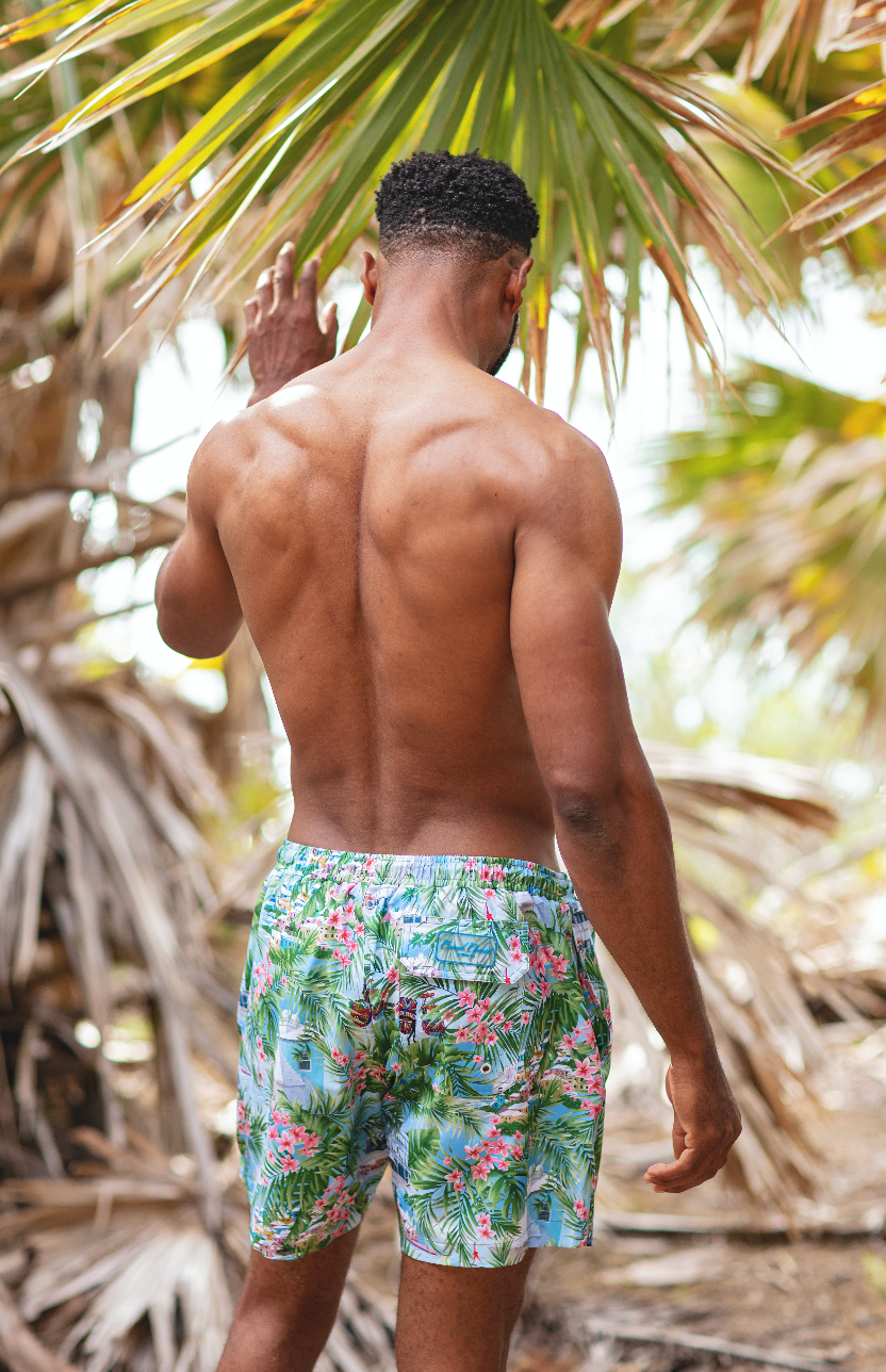 BERMUDA SCENIC SWIM TRUNK