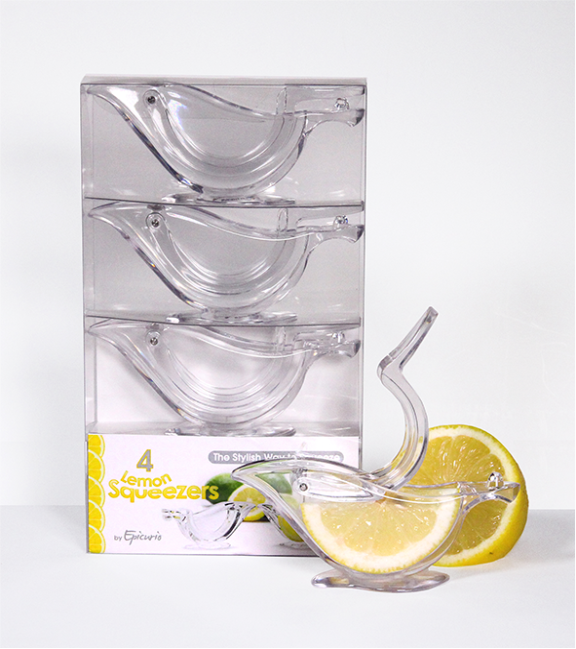 Epicurio 4 Pack Lemon Squeezers