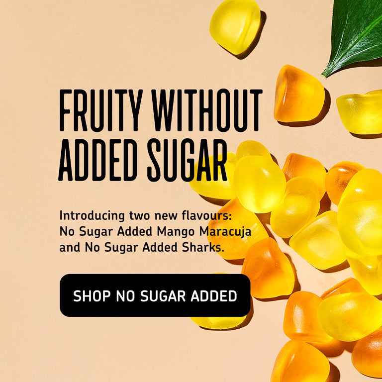 Fruity without sugar added