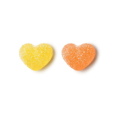 Vegan Sour Peach Hearts
