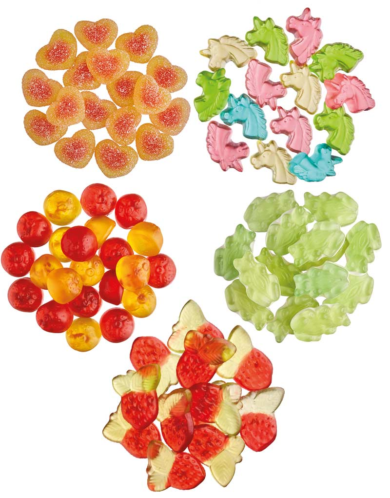 Bulk Box - Fruity Gummies 2.5 kg