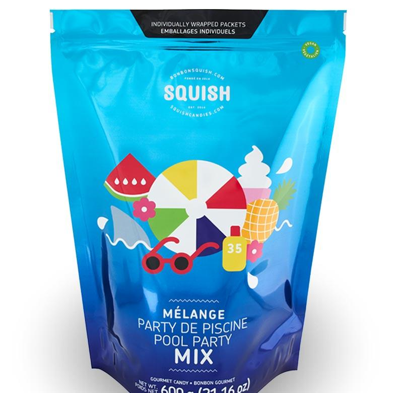 SQUISH Candies Vegan Pool Party Jumbo Mix