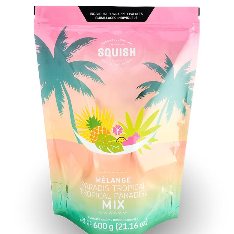 SQUISH Candies Tropical Paradise Jumbo MIx