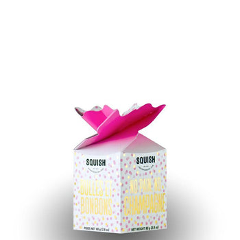 SQUISH Candies No Pain, No Champagne Mini Gift Box
