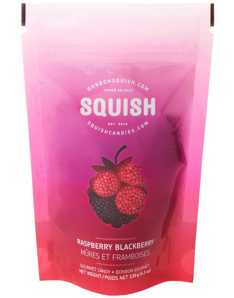 SQUISH Candies Raspberry Blackberry