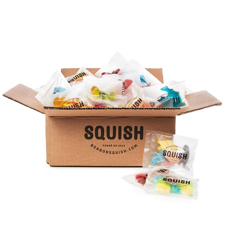 Ultimate Squish Sharing Box - 40 Packets - VEGAN
