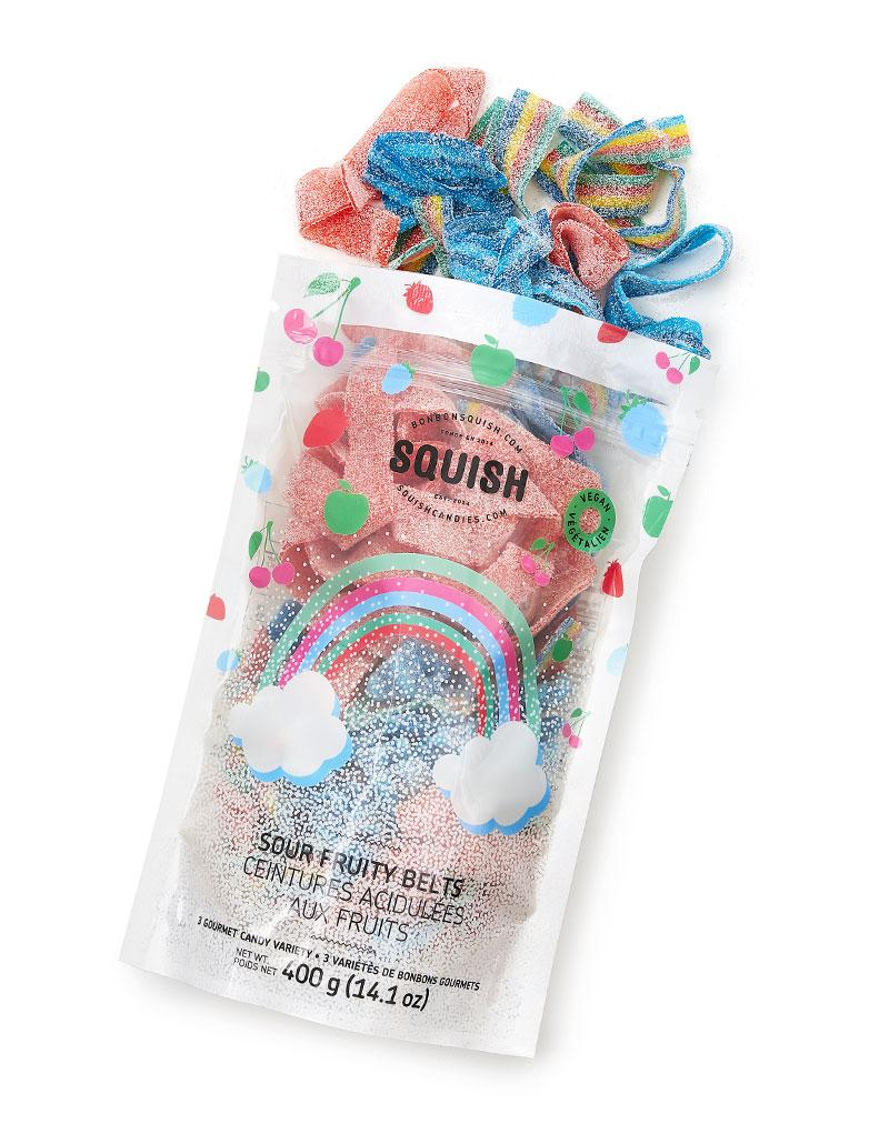 VEGAN Sour Fruity Belts Medium Bag