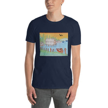 "Beautiful ""Down by the bay"" Hand-Drawn Tee"