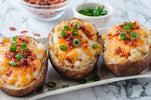 Cheesy Double Baked Potatoes with Baccon - SET 1/4