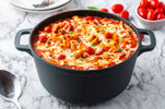One Pot Creamy Tomato Chicken Pasta Bake - EXCLUSIVE