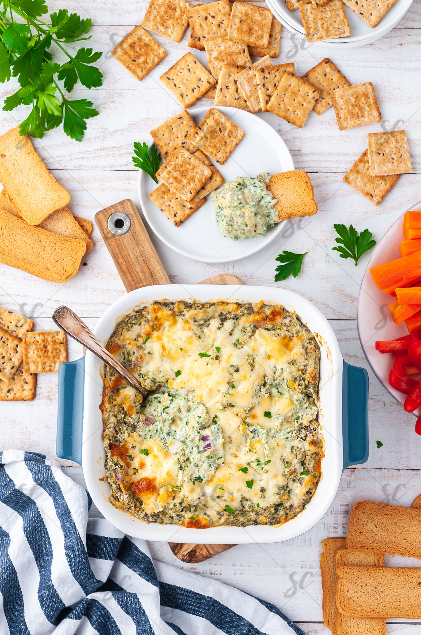 Baked Spinach Dip - EXCLUSIVE
