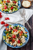 Vegetable Crunch Salad with Homemade Italian Dressing - SET 2/4