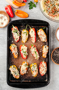 Couscous Stuffed Mini Peppers - 1/1