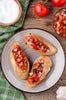 Bruschetta with Tomato and Feta - 1/1