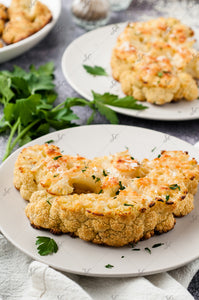 Garlic Parmesan Cauliflower Steaks - 3/3
