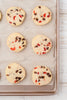 Dark Chocolate & Cherry Shortbread Cookies - EXCLUSIVE