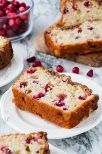 Cranberry Coffee Cake Loaf - SET 1/1