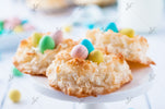 Coconut Macaroon Easter Nests - SET 2/3