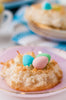 Coconut Macaroon Easter Nests - SET 3/3