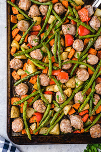 Italian Sausage Sheet Pan Dinner - EXCLUSIVE
