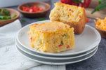 Mexican Corn Bread - 3/4