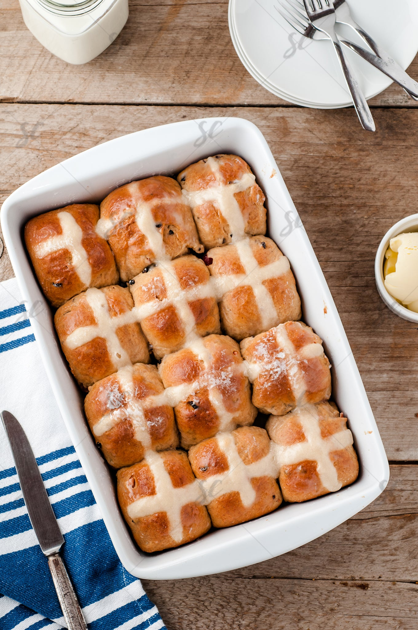Hot Cross Buns - 1/3
