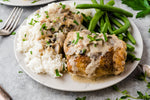 Creamy Mushroom Chicken Thigh Skillet - EXCLUSIVE