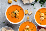 Roasted Red Pepper and Tomato Soup - EXCLUSIVE