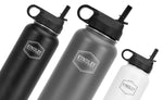Kyndley Flask 32 oz Sports Water Bottle - Vacuum Insulated & Stainless Steel Hydro Thermos