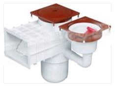 Quality Weir Autofill white for concrete pool - Swimming Pool Specialist - Swemgat.com
