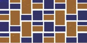 Classique Brown Fibreglass Pool Mosaic Tile Sheet 412 x148mm - Swemgat