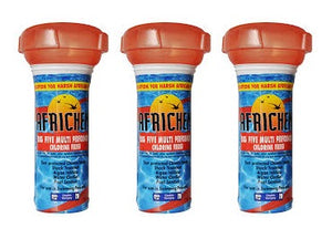 Africhem Big 5 chlorine floater for pools upto 50 000 Litre (pack of 3 units) - Swemgat