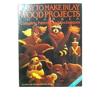 Easy to make inlay wood projects: Intarsia/B26