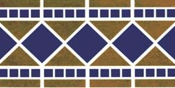 Tuscan Riviera Brown Fibreglass Pool Mosaic Tile Sheet 441x151mm - Swemgat
