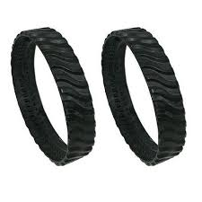 Track Belts for MX6 and MX8 Zodiac Swimming Pool cleaner (set of 2 tyres)