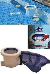 Pool Skim Leaf Catcher White - Swemgat