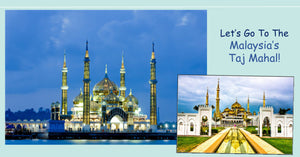 Do you know that Malaysia also has our own Taj Mahal? It is in the state of Terengganu!