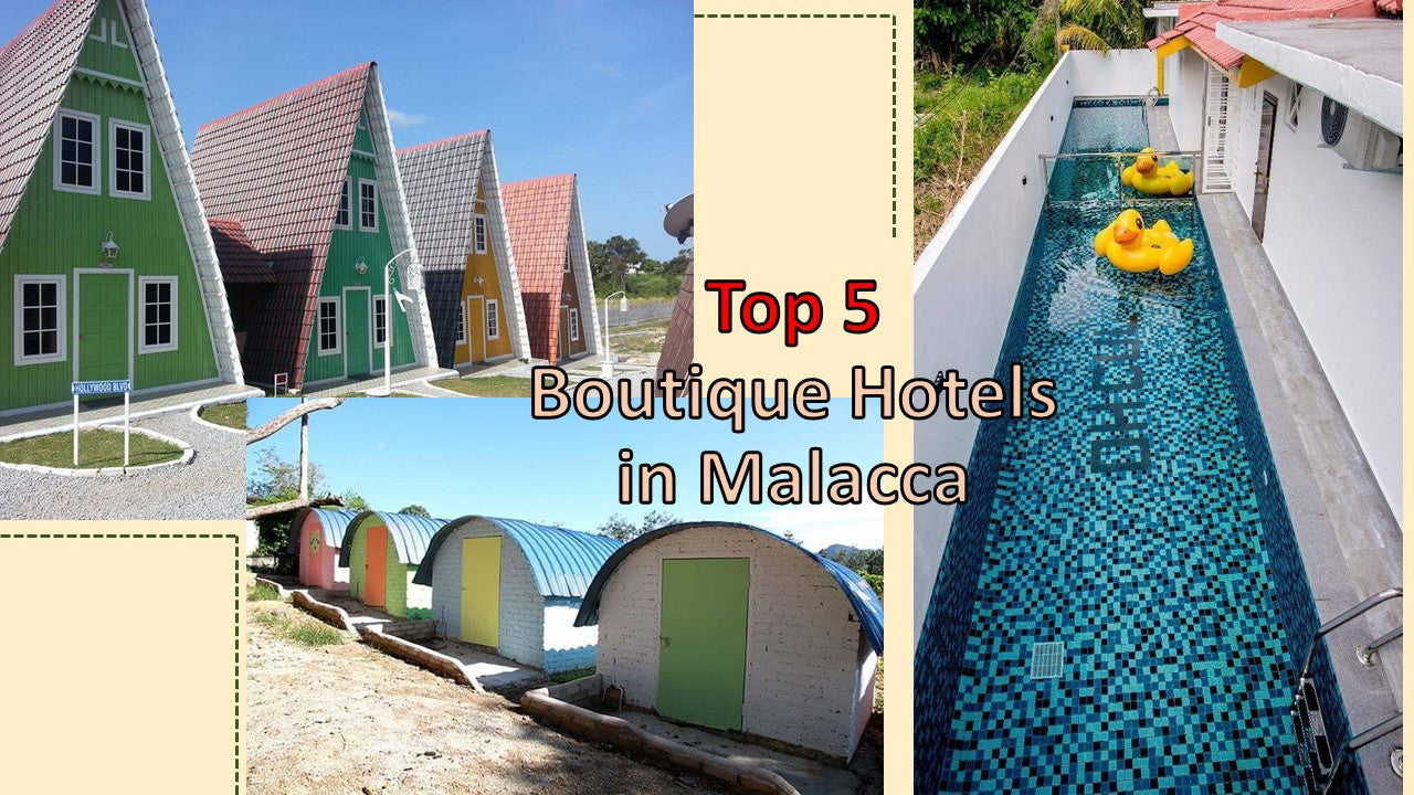 Top 5 boutique hotels in Malacca you want to check out on your next visit to the historical state!