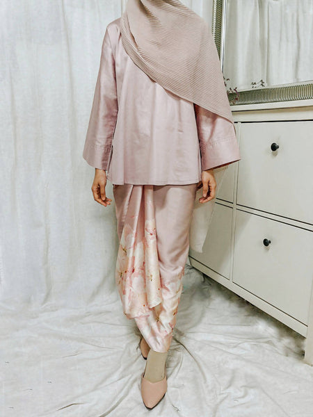 AAYU Set in Dusty Pink