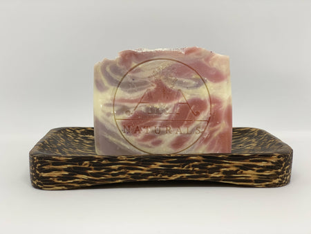 Rose Geranium Soap and Soap Dish Set
