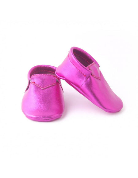 Bebebundo Baby Leather Shoes - Aurora Metallic Collection