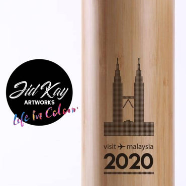 Limited Edition Visit Malaysia 2020 Bamboo Tumbler