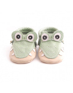 Bebebundo Baby Leather Shoes - Crocodile Zoo Collection
