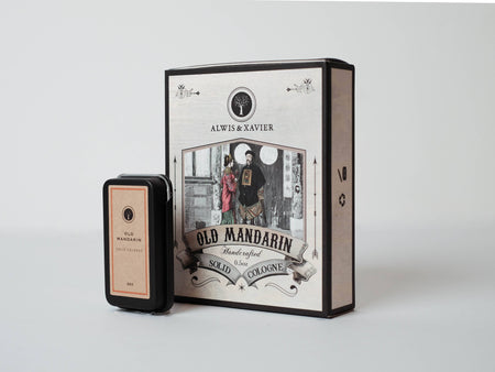 Old Mandarin solid cologne