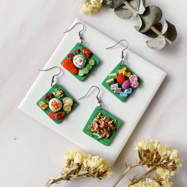Malaysia Holiao Hook Earrings (2 earrings: 1 pair)