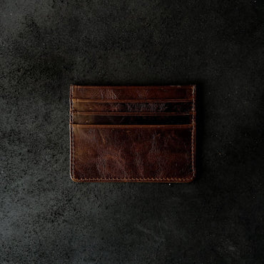 Align.Co Personalised Genuine Leather 7-Pockets Cardholder
